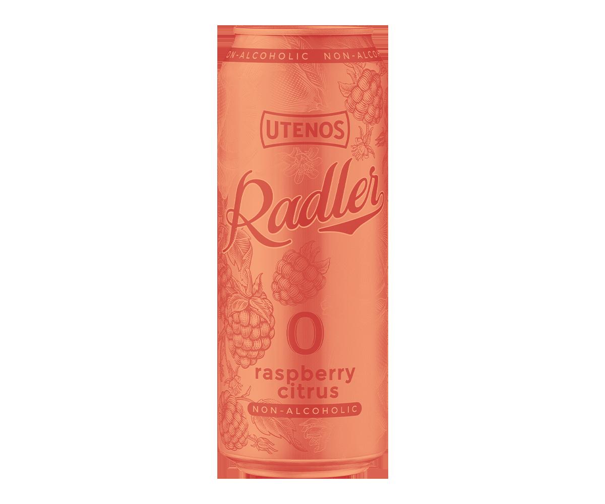 """UTENOS """"Radler"""" nealkoholinis"""